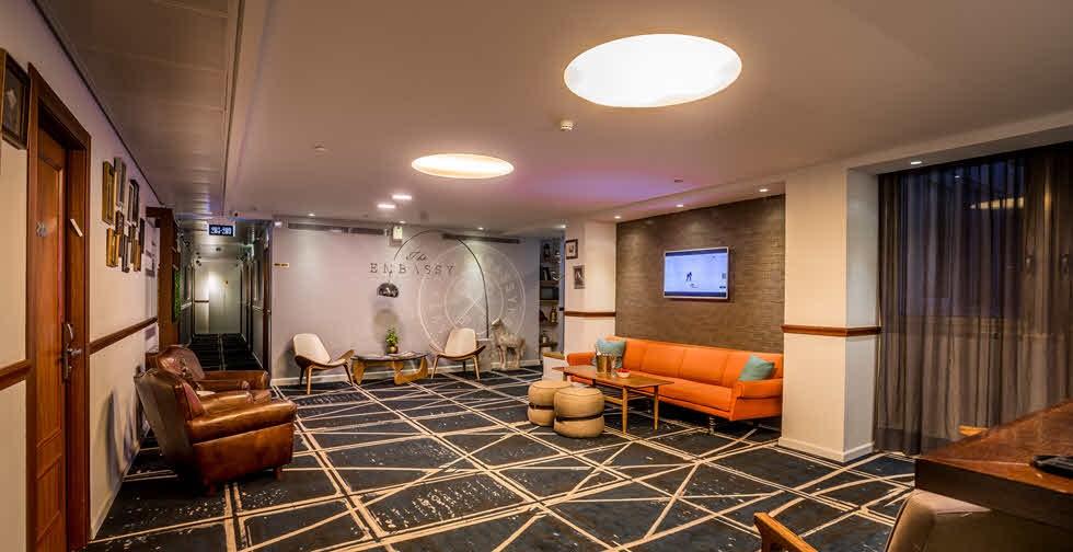 Embassy Hotel Tel Aviv - Upper Lobby